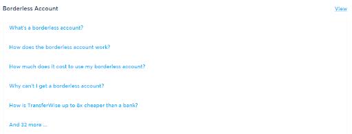 Transferwise_FAQ's
